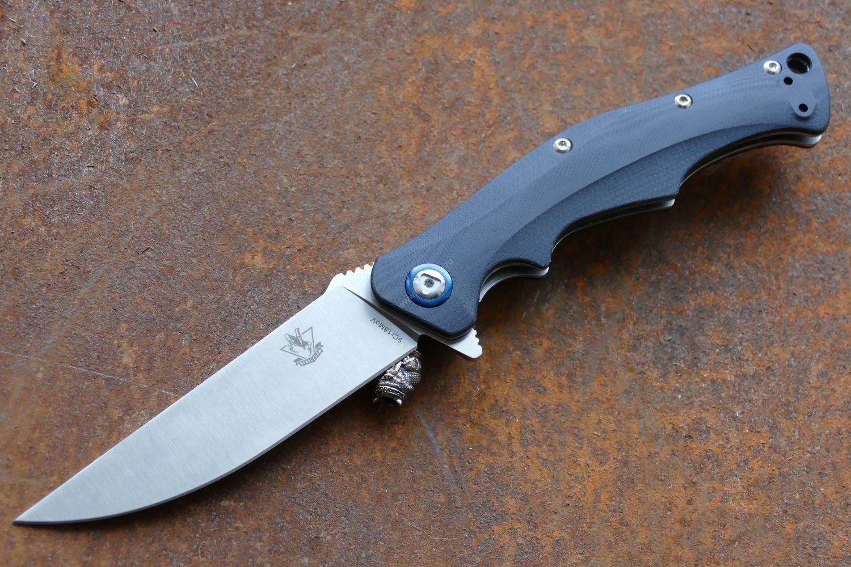 Нож Steelclaw Дагон black 5076-1
