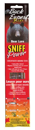 Приманка для медведя - дымящиеся палочки, запах самец