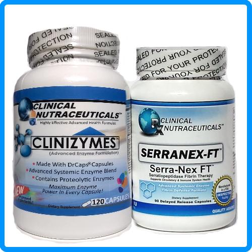 Serranex-FT + Clinizymes Combo