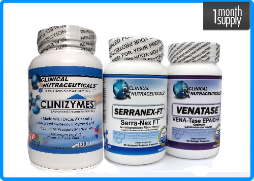 Clinizymes + Serranex-Ft + Venatase