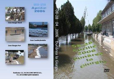 Dunarea revarsata la Giurgiu