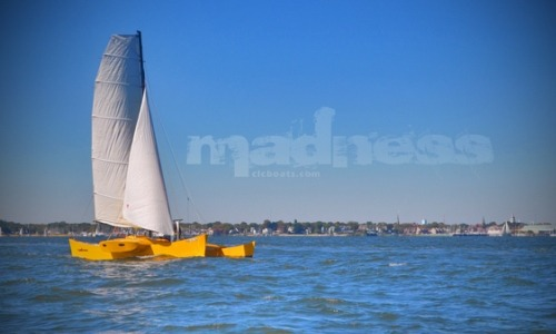 Madness 31-foot Pacific Proa (Bauplan)