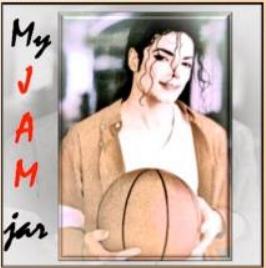 JAM Jar sticker - scene from Jam