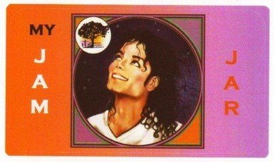 JAM Jar sticker - Michael looking up