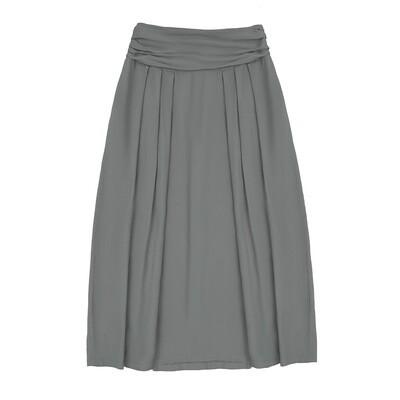 Взрослая вискозная юбка серая
