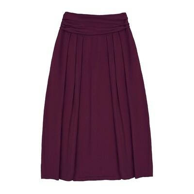 Взрослая вискозная юбка бордовая