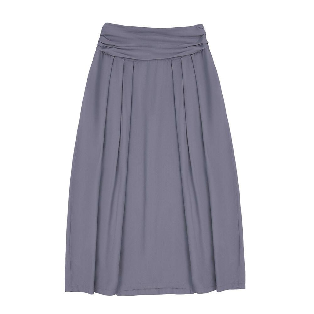 Взрослая вискозная юбка лавандовая