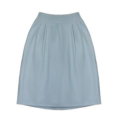 Взрослая юбка голубая (2020)