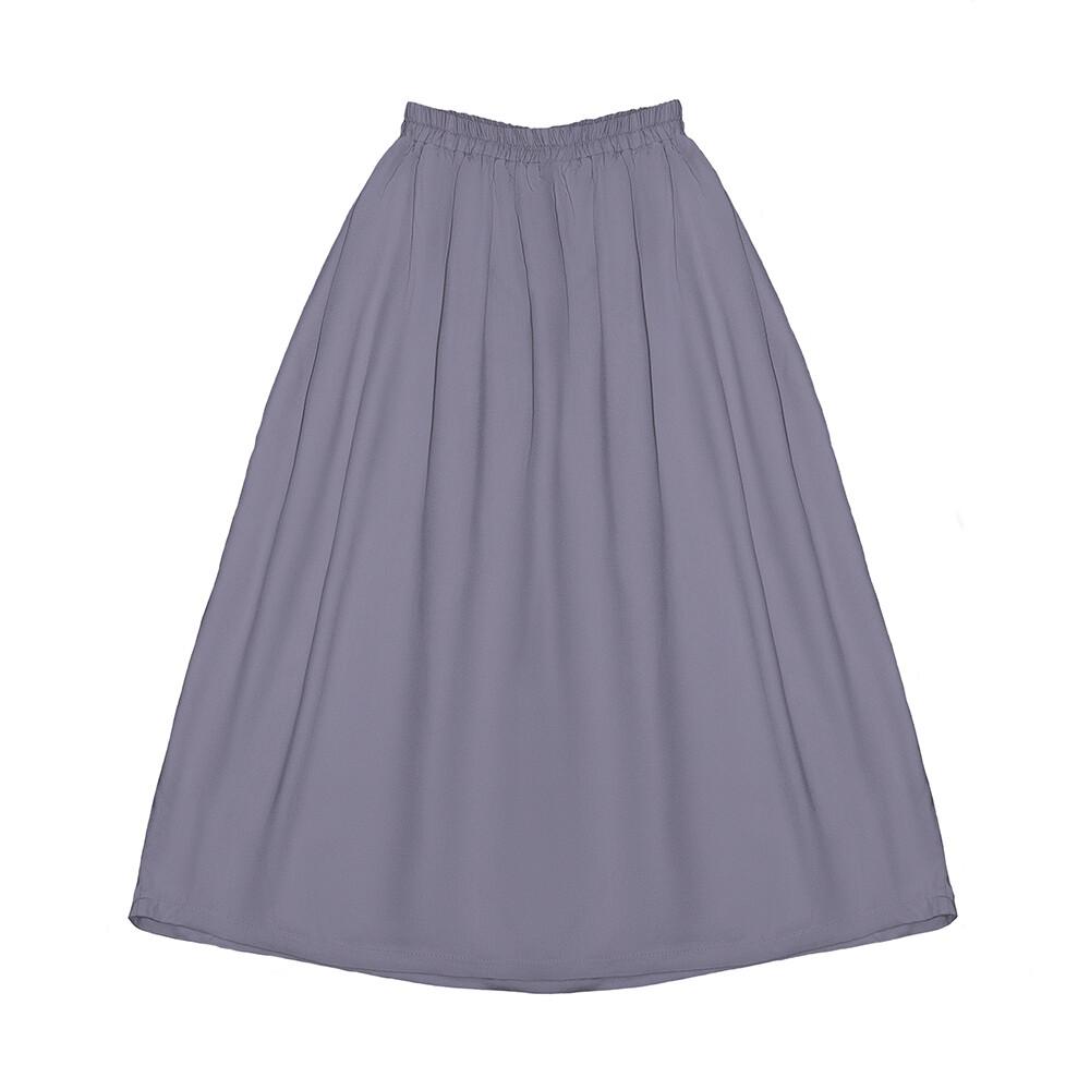 Подростковая вискозная юбка лавандовая
