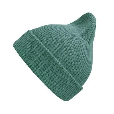 Хлопковая шапка ko-ko-ko цвет морской волны