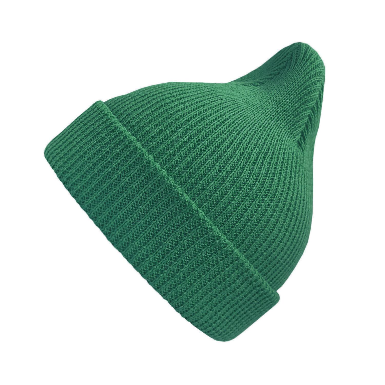 Хлопковая шапка ko-ko-ko ярко-зелёная
