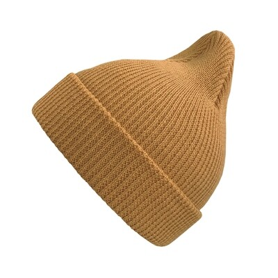 Хлопковая шапка ko-ko-ko жёлто-горчичная