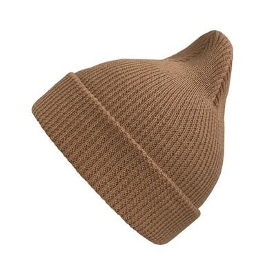 Хлопковая шапка ko-ko-ko светло-коричневая