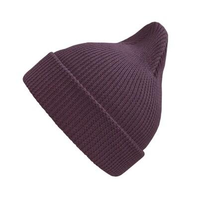 Хлопковая шапка ko-ko-ko фиолетово-бордовая