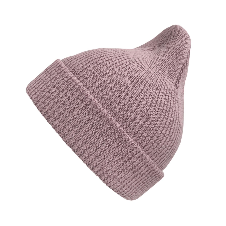 Хлопковая шапка ko-ko-ko пыльно-розовая