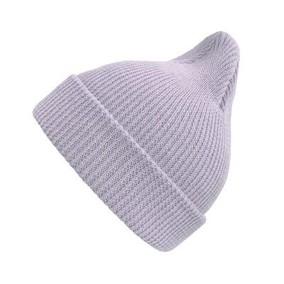 Хлопковая шапка ko-ko-ko нежно-сиреневая (*baby size)