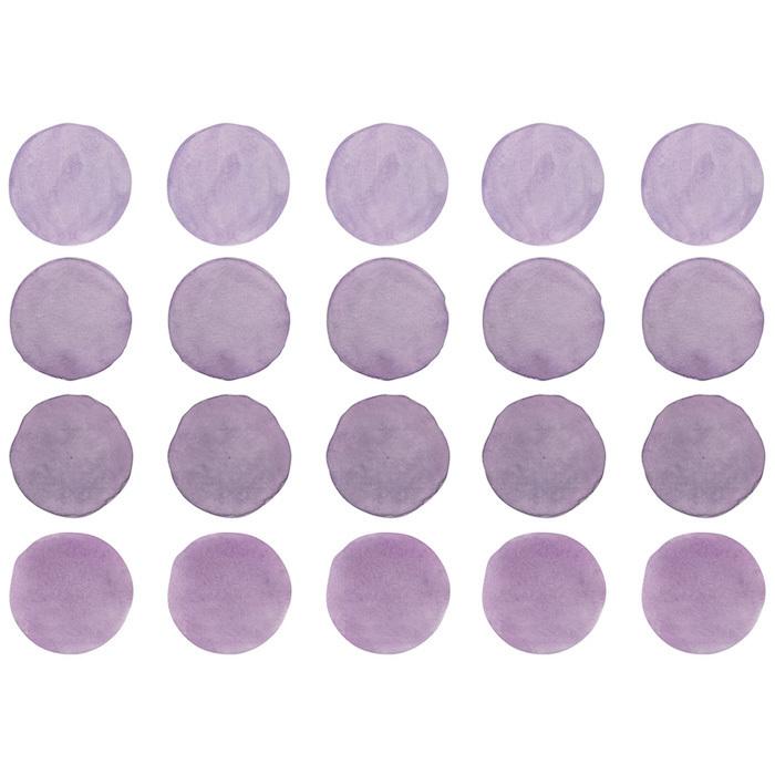 Интерьерная наклейка Watercolor Polka Dots —  сиреневый