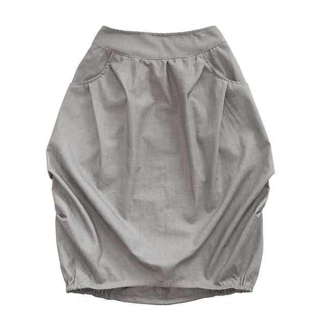 Взрослая юбка серая