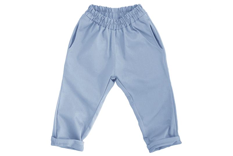Штаны унисекс голубые