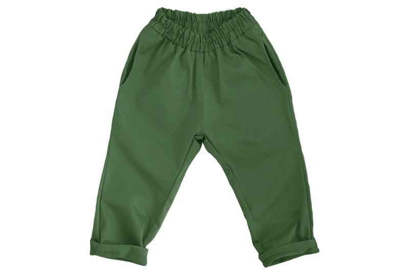 Штаны унисекс зелёные