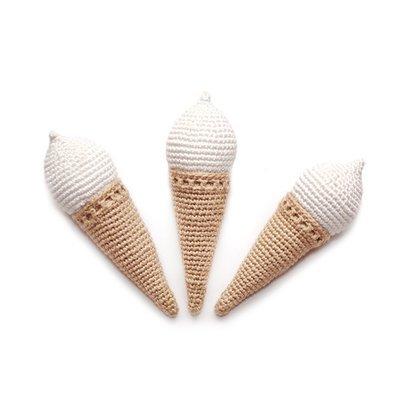 Вязаное мороженое