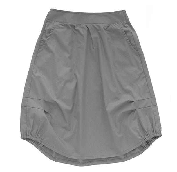 Взрослая юбка серая (лето 2016)