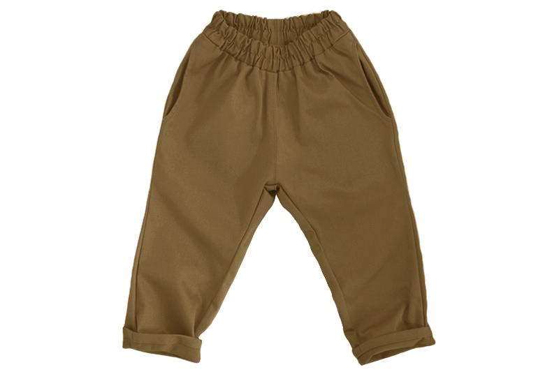 Штаны унисекс горчично-коричневые