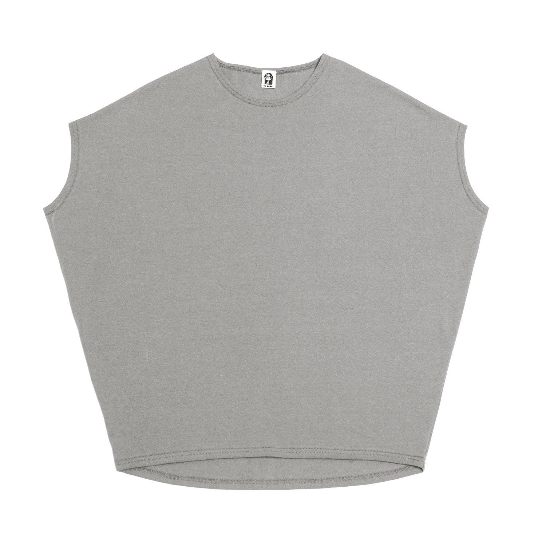 Взрослая футболка светло-серая