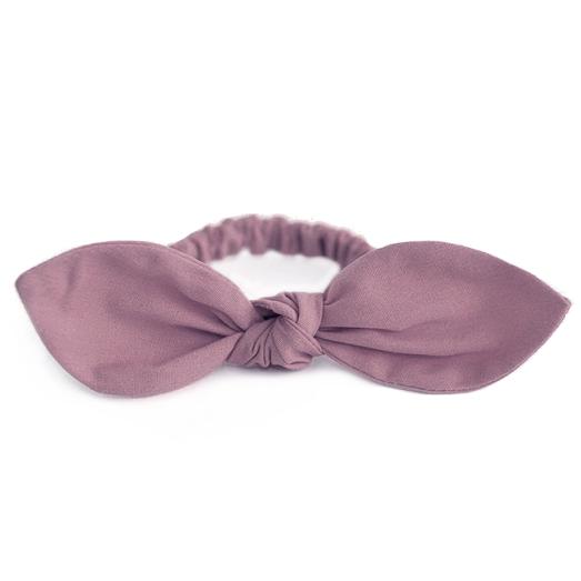 Резинка для волос розовато-лиловая