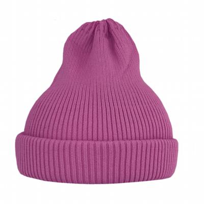 Хлопковая шапка ko-ko-ko фуксия (2018)