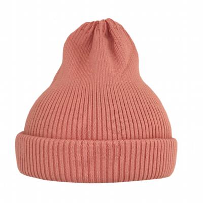 Хлопковая шапка ko-ko-ko светло-коралловая