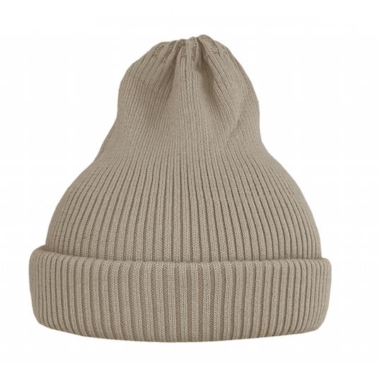Хлопковая шапка ko-ko-ko песочная светлая (2018)
