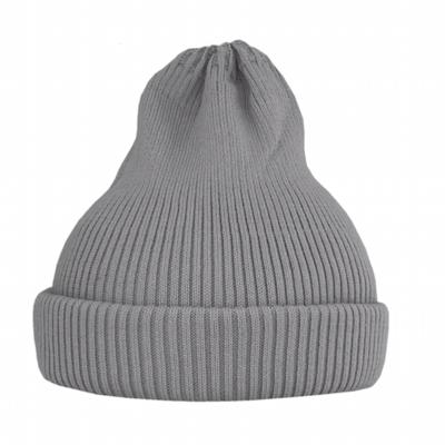 Хлопковая шапка ko-ko-ko серая sharkskin (2018)