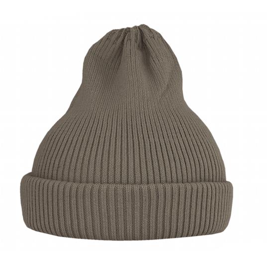 Хлопковая шапка ko-ko-ko песочная темная (2018)