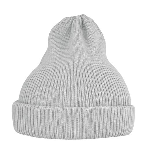 Хлопковая шапка ko-ko-ko светло-серая (2018)