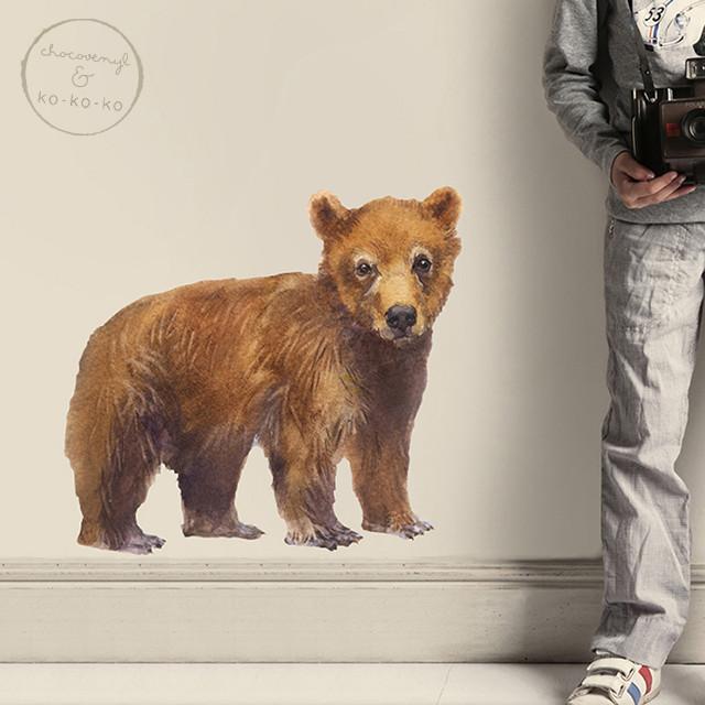 Интерьерная наклейка «Медвежонок»