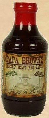 Papa Brown's Homemade BBQ Sauce