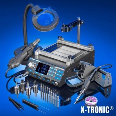 X-Tronic 5040-XR3 Hot Air Rework Station & Preheating Station XTR-5040-XR3