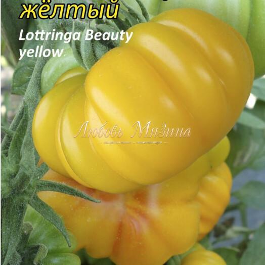 Томат Лотарингская красавица желтый