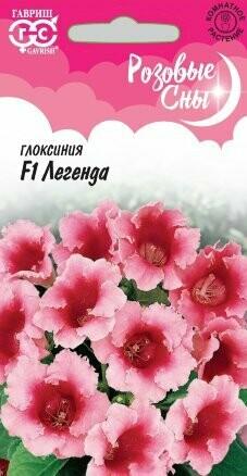 Глоксиния Легенда F1 Розовые сны