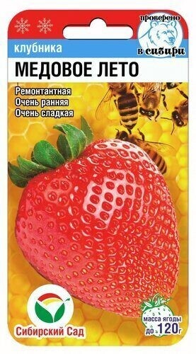 Земляника (семена) Медовое лето