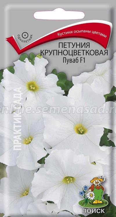 Петуния крупноцветковая Пуваб