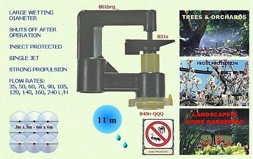 Комплект спринклер для открытого грунта 831-120