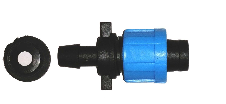 Коннектор для капельной ленты с резиновым уплотнителем