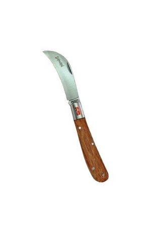 IGKMP-68W Нож прививочный, складной Samurai (изогнутое лезвие)