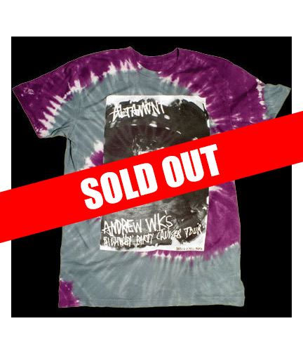 Tie Dye Highway Party Cruiser Tour Shirt - Design by Altamont