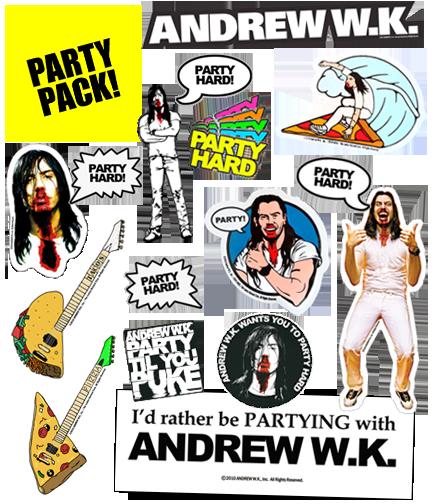 A.W.K. 17 Sticker Super Set