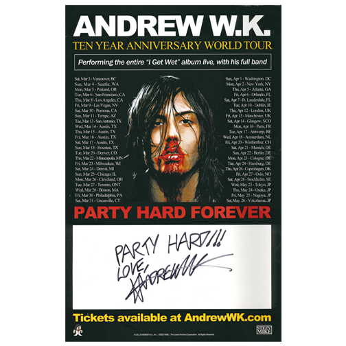 10 Year Anniversary Tour Promo Poster