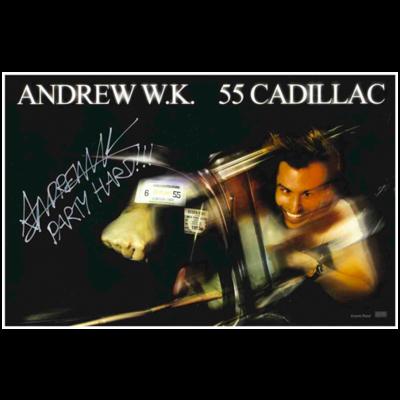 55 Cadillac Poster