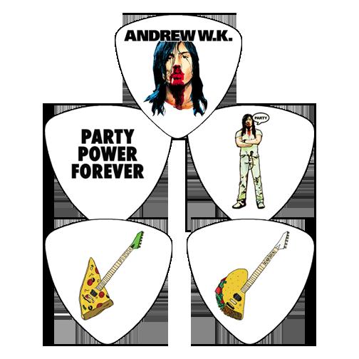 Guitar Picks - 4 Pick Party Set